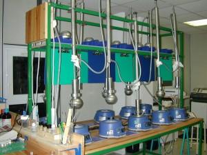 Dispositifs pour la réalisation d'essais Soxhlet selon la norme X 30-403